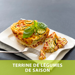 Recette Neroliane Terrine de légumes Arôme Ail
