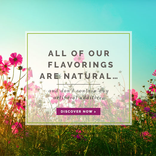 All our flavoring are natural - Néroliane